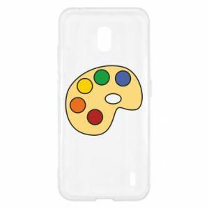 Etui na Nokia 2.2 Rainbow palette
