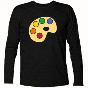Long Sleeve T-shirt Rainbow palette - PrintSalon