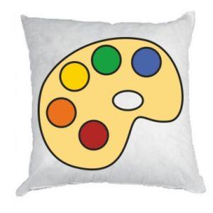Poduszka Rainbow palette
