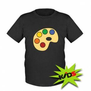 Koszulka dziecięca Rainbow palette