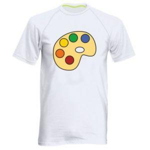 Koszulka sportowa męska Rainbow palette