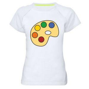 Koszulka sportowa damska Rainbow palette