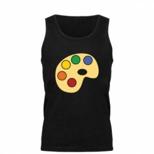 Men's t-shirt Rainbow palette - PrintSalon