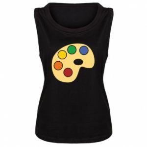 Women's t-shirt Rainbow palette - PrintSalon