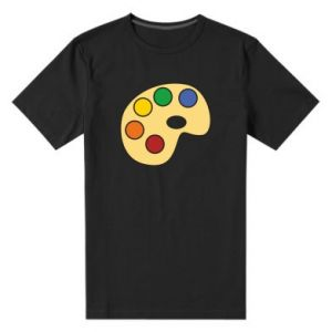 Men's premium t-shirt Rainbow palette - PrintSalon