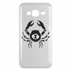 Samsung J3 2016 Case Cancer and sign to the Cancer
