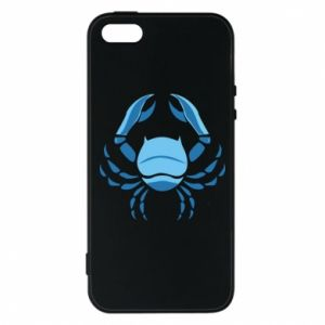 Phone case for iPhone 5/5S/SE Cancer blue or pink