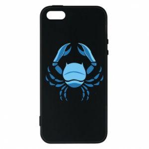 Etui na iPhone 5/5S/SE Rak niebieski lub różowy - PrintSalon