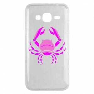 Phone case for Samsung J3 2016 Cancer blue or pink