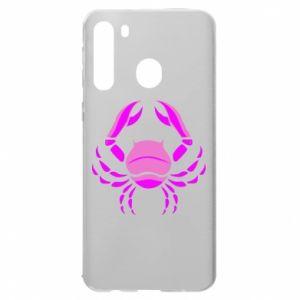 Samsung A21 Case Cancer blue or pink