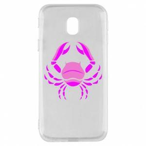 Phone case for Samsung J3 2017 Cancer blue or pink