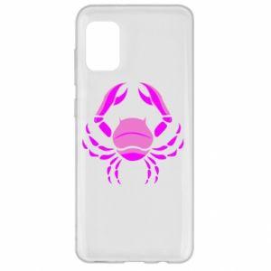 Samsung A31 Case Cancer blue or pink