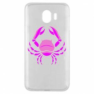 Phone case for Samsung J4 Cancer blue or pink