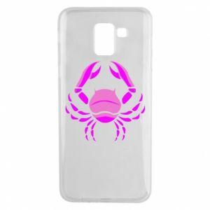 Phone case for Samsung J6 Cancer blue or pink