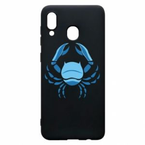 Phone case for Samsung A20 Cancer blue or pink