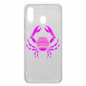 Phone case for Samsung A30 Cancer blue or pink
