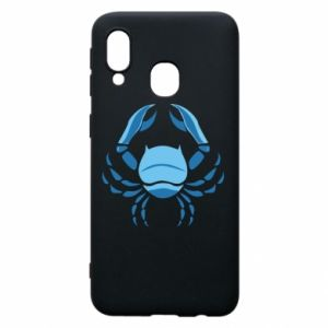 Phone case for Samsung A40 Cancer blue or pink