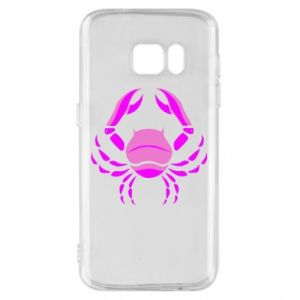 Phone case for Samsung S7 Cancer blue or pink