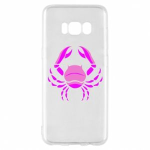 Phone case for Samsung S8 Cancer blue or pink