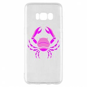 Etui na Samsung S8 Rak niebieski lub różowy - PrintSalon