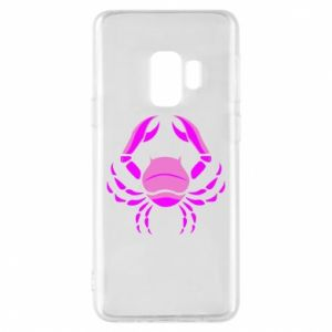 Phone case for Samsung S9 Cancer blue or pink