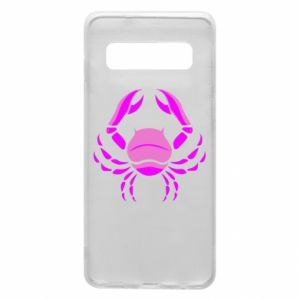 Phone case for Samsung S10 Cancer blue or pink