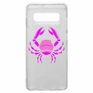 Phone case for Samsung S10+ Cancer blue or pink
