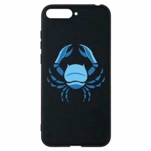 Phone case for Huawei Y6 2018 Cancer blue or pink