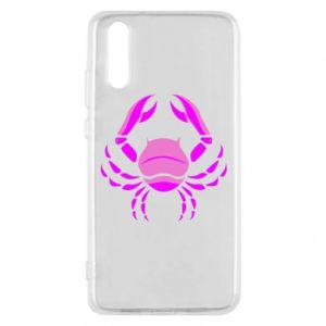 Phone case for Huawei P20 Cancer blue or pink