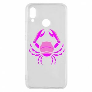 Phone case for Huawei P20 Lite Cancer blue or pink