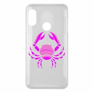Phone case for Mi A2 Lite Cancer blue or pink