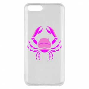 Phone case for Xiaomi Mi6 Cancer blue or pink
