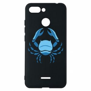 Phone case for Xiaomi Redmi 6 Cancer blue or pink