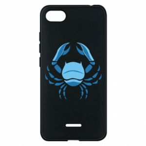 Phone case for Xiaomi Redmi 6A Cancer blue or pink