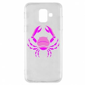 Phone case for Samsung A6 2018 Cancer blue or pink