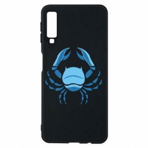 Phone case for Samsung A7 2018 Cancer blue or pink