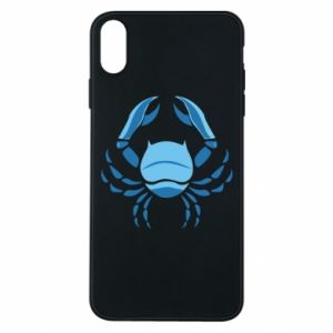 Phone case for iPhone Xs Max Cancer blue or pink