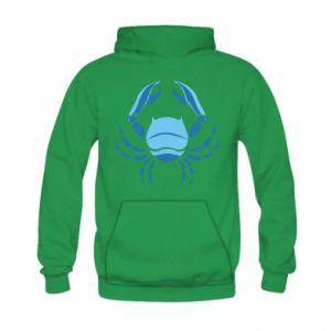 Kid's hoodie Cancer blue or pink