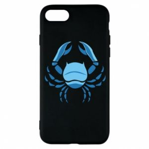 Phone case for iPhone 8 Cancer blue or pink