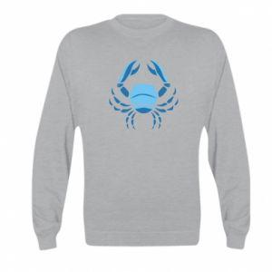 Kid's sweatshirt Cancer blue or pink