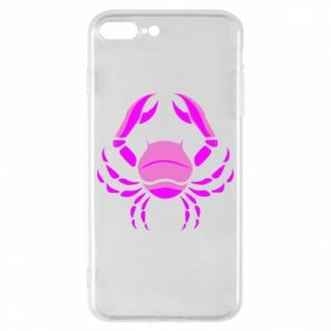 Phone case for iPhone 8 Plus Cancer blue or pink