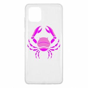 Samsung Note 10 Lite Case Cancer blue or pink