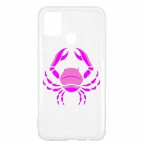 Samsung M31 Case Cancer blue or pink