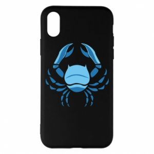 Phone case for iPhone X/Xs Cancer blue or pink