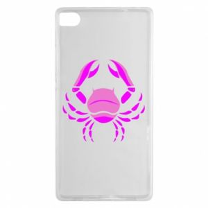 Huawei P8 Case Cancer blue or pink