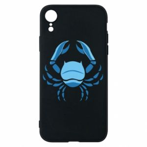 Phone case for iPhone XR Cancer blue or pink