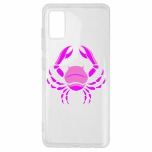 Samsung A41 Case Cancer blue or pink