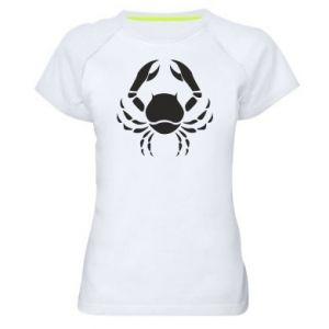 Women's sports t-shirt Cancer