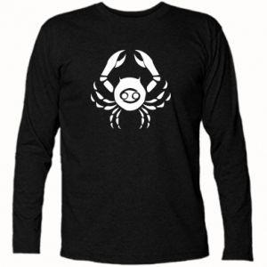 Koszulka z długim rękawem Rak i znak do Rak - PrintSalon