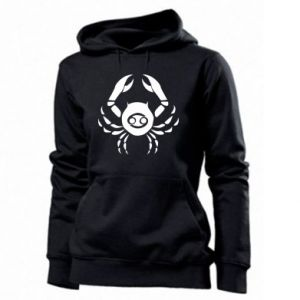 Women's hoodies Cancer and sign to the Cancer